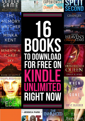 16 Free Kindle Books to Read on Kindle Unlimited Right Now