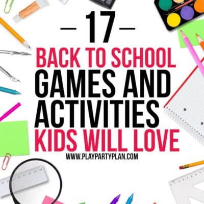 17 Fun Back to School Games for Kids