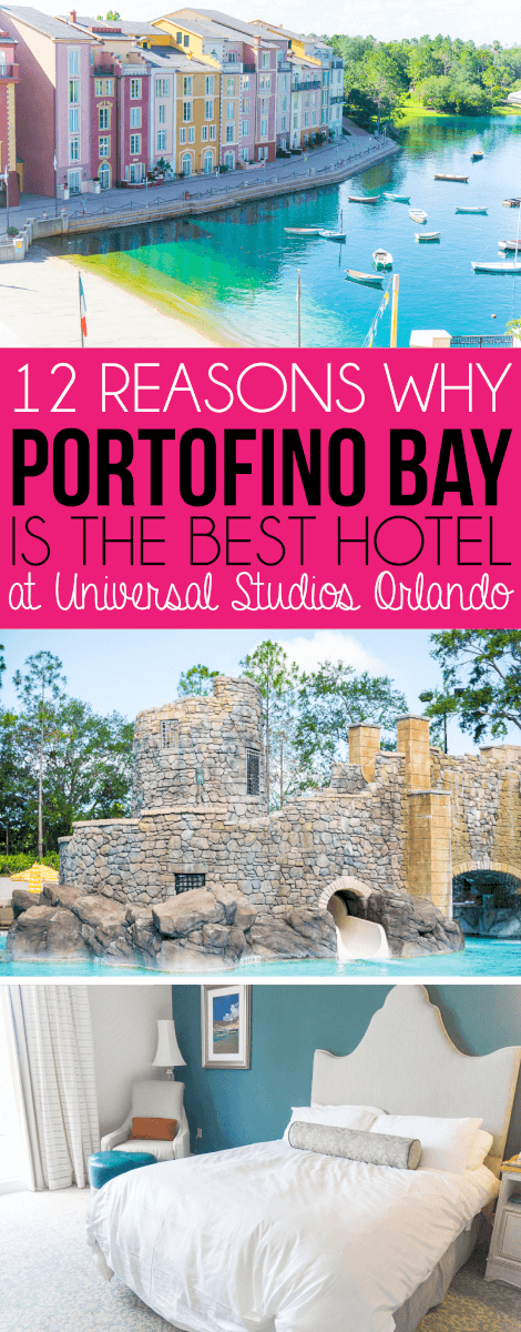 Tips for visiting Universal Studios Orlando including why Loews Portofino Bay Hotel is the best of the Universal Orlando Hotels!