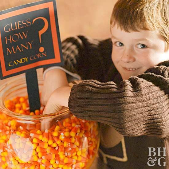 a kid playing fun halloween games for kids