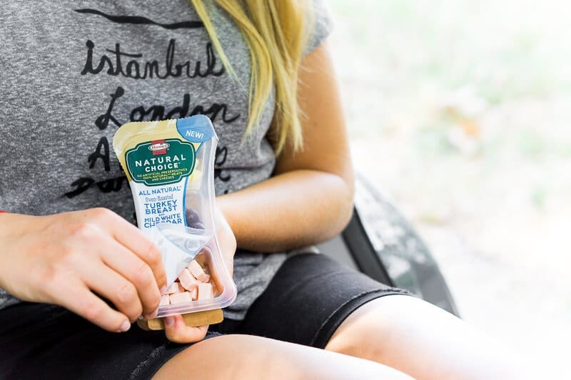 Healthy road trip snacks like Hormel Natural Choice snacks