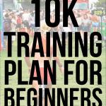 A free printable 10K training plan