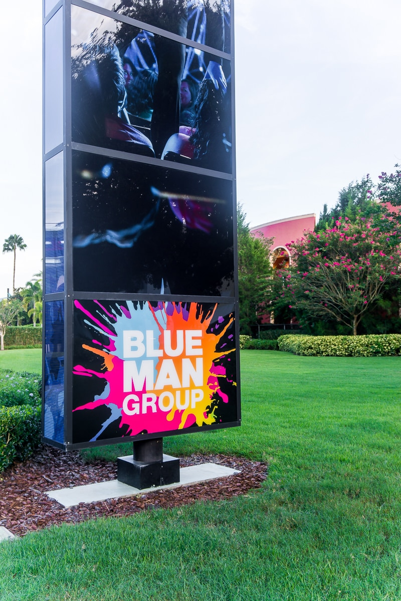 The Blue Man Group Show in Orlando is not to be missed