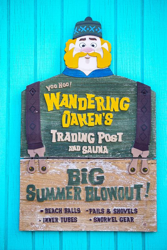 Frozen themed shop at Disney Castaway Cay