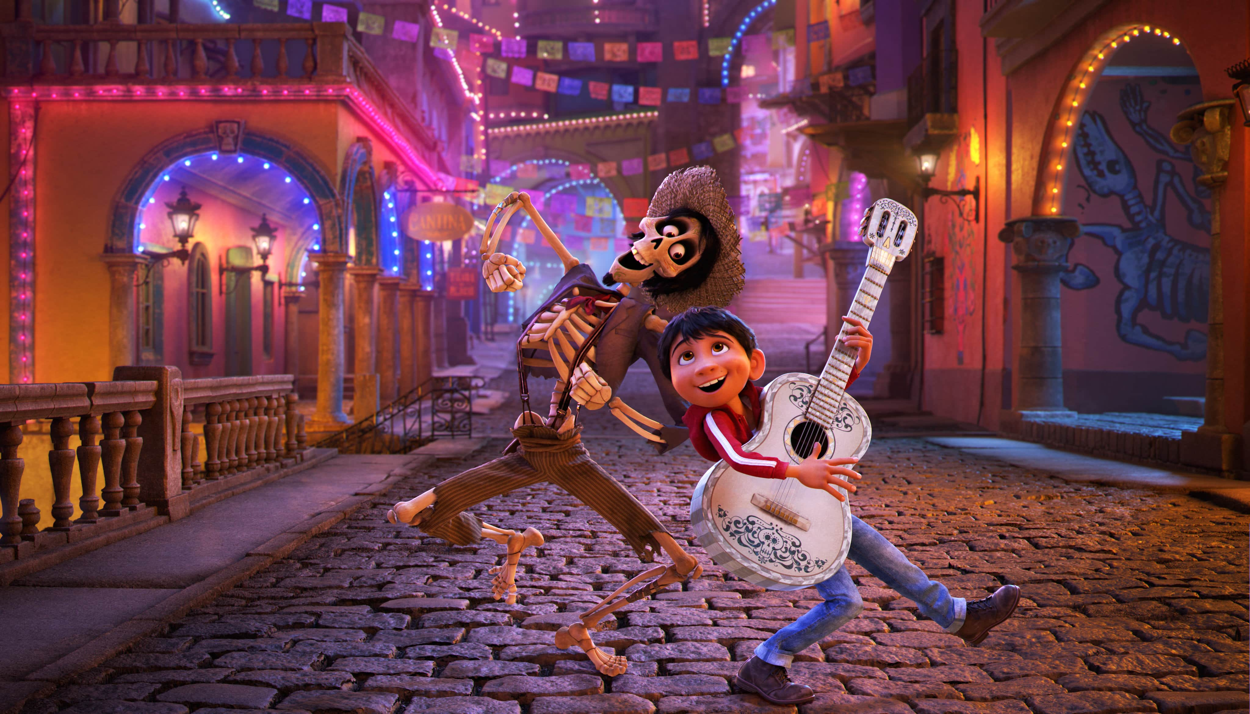 Free Printable Pixar Coco Coloring