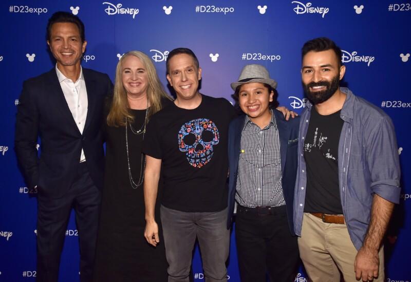Pixar Coco Cast and crew
