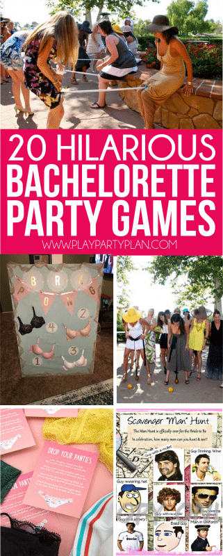 the best collection of bachelorette party games