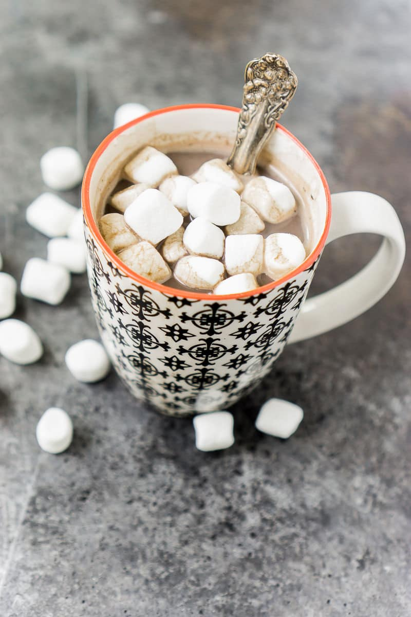 Don't miss out on this healthy hot chocolate recipe that's a great way to start your day