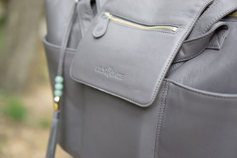Tons of pockets make the Lily Jade diaper bag a great travel bag!