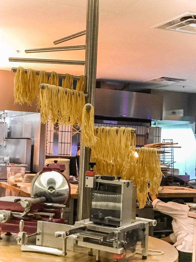 Watch pasta being made at the Vivo Italian Kitchen