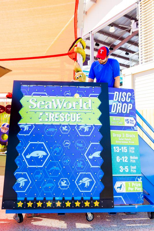 Get SeaWorld tickets to play games while you're there