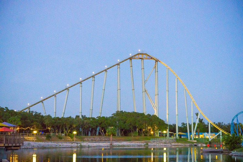 SeaWorld San Antonio has four great coasters
