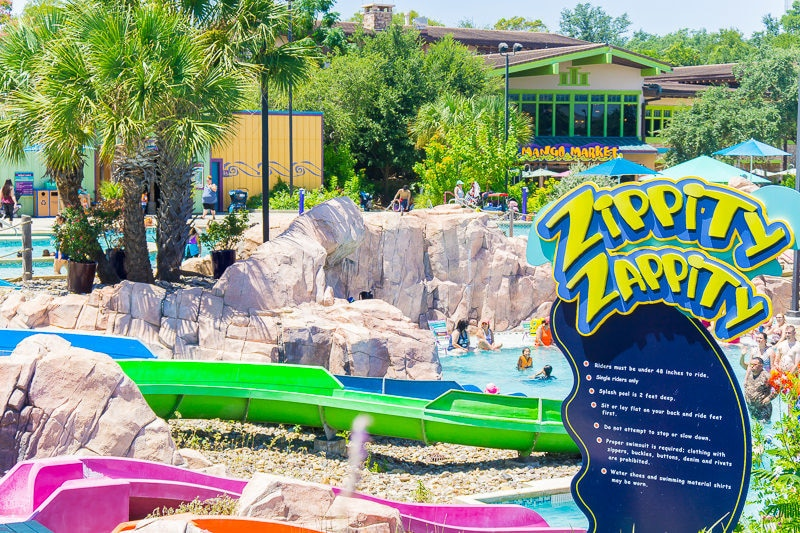 Great slides for all heights at SeaWorld Aquatica