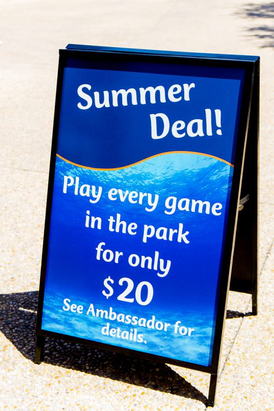 Play games at SeaWorld Texas for a great deal