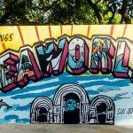 Welcome to SeaWorld San Antonio TX sign