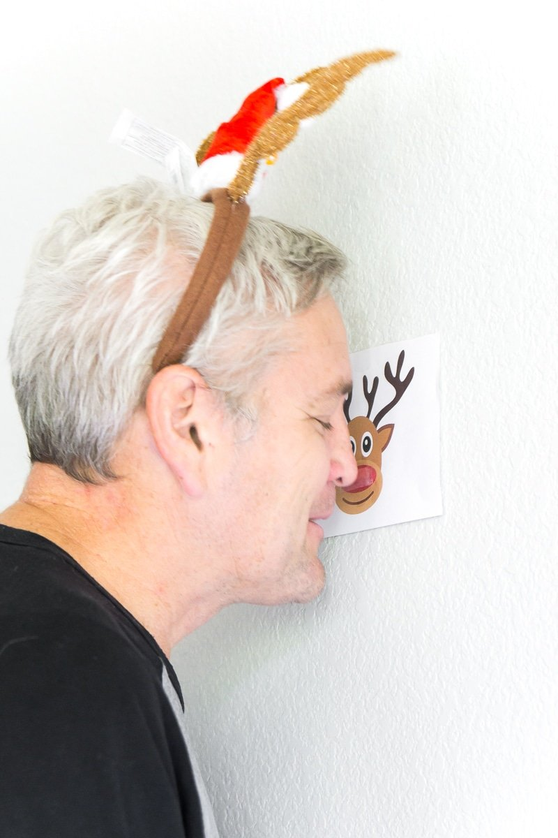 graphic regarding Pin the Nose on the Reindeer Printable identified as 25 Very simple Xmas Bash Online games On your own Contain in direction of Perform This Yr