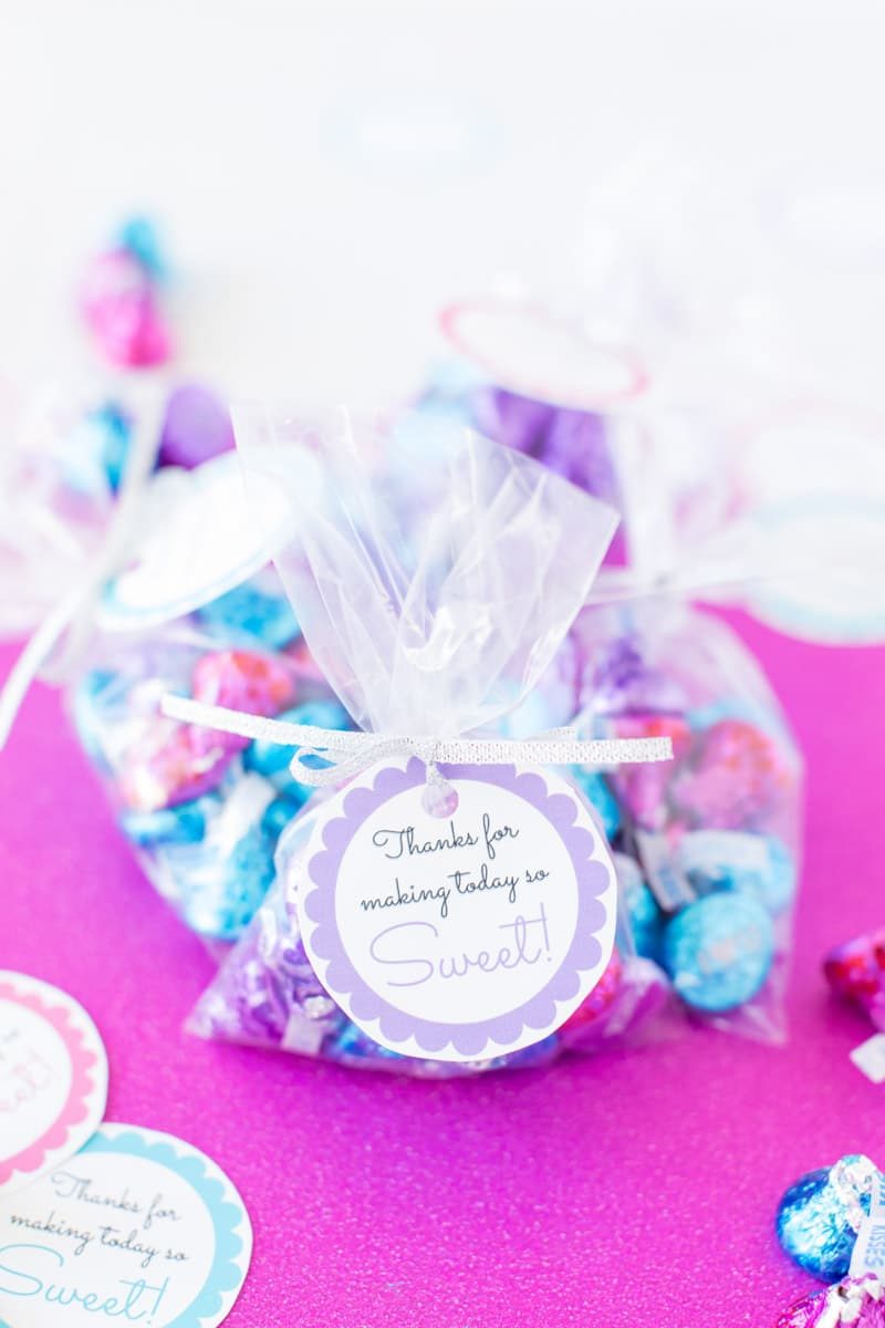 printable baby shower favor tags with candy