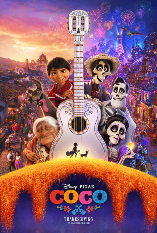 Latest Pixar Coco Trailer and Poster