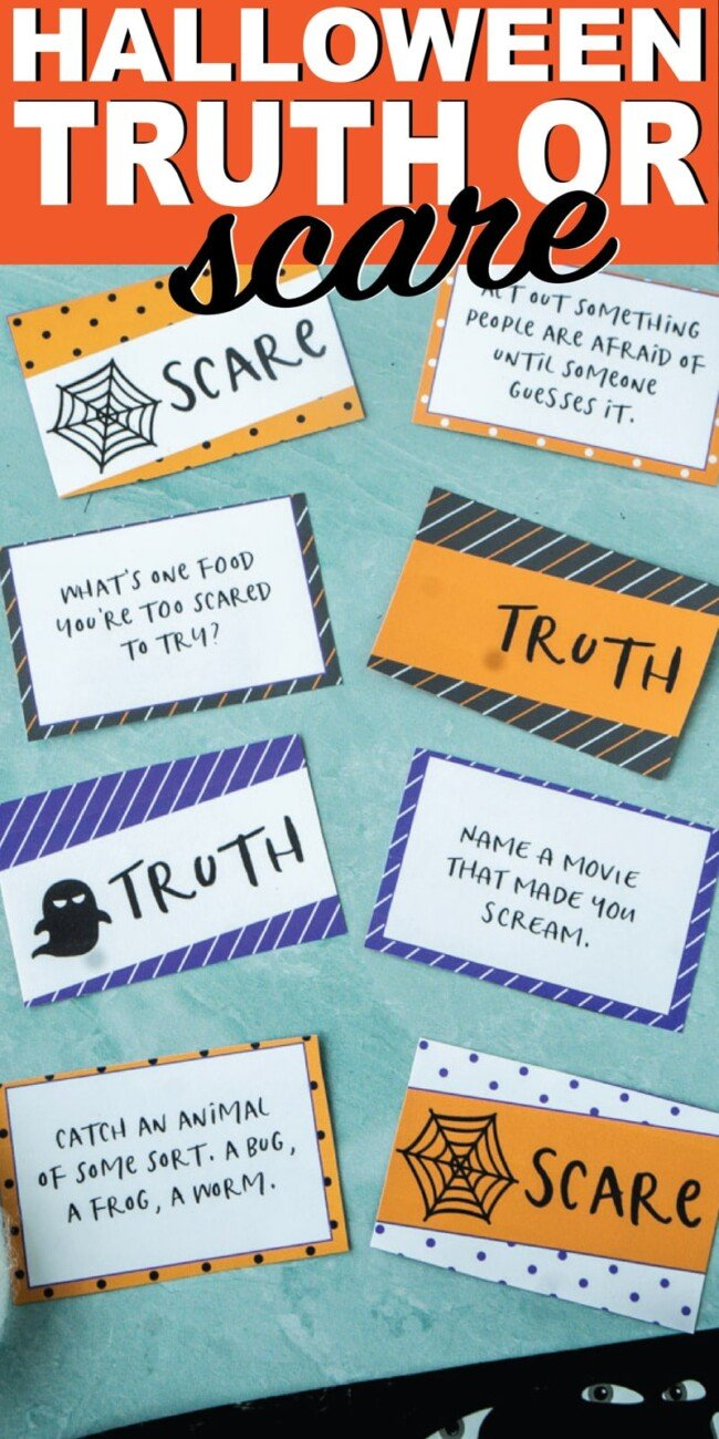 Halloween Games   Truth or Scare   Beanstalk Mums
