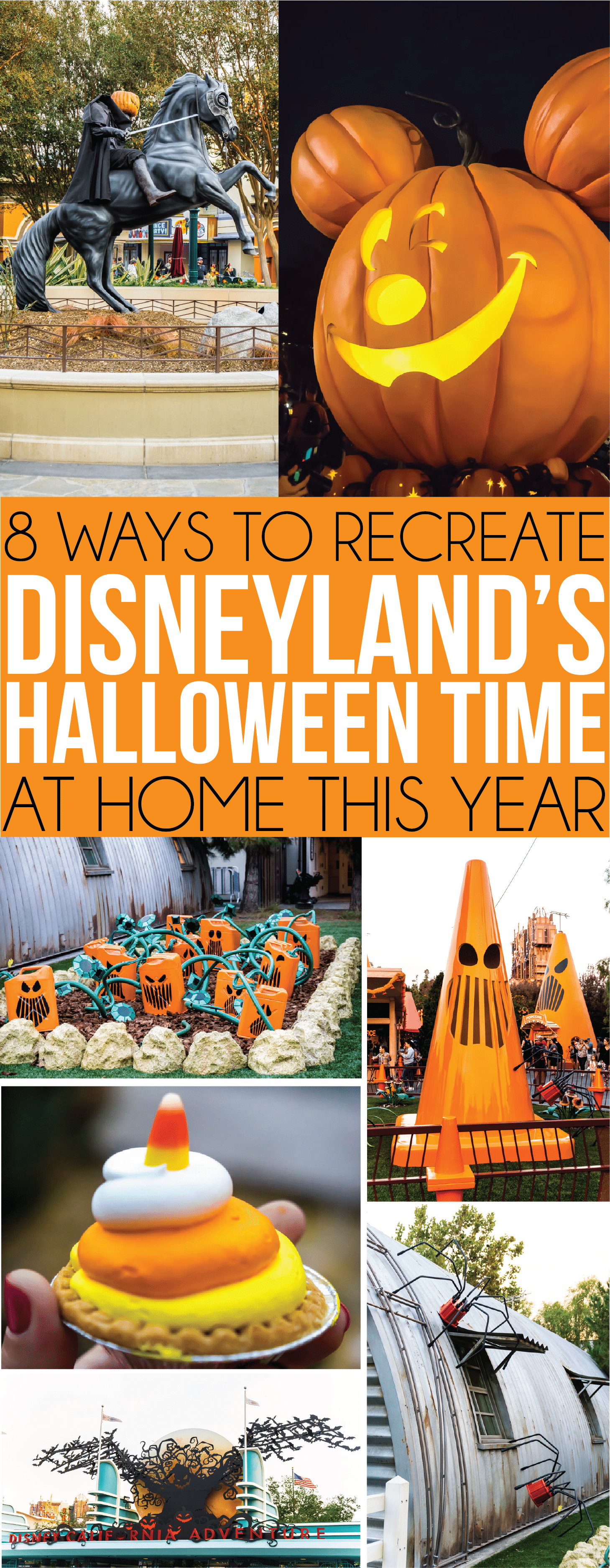 Fun ways to recreate the Disneyland Halloween party at home