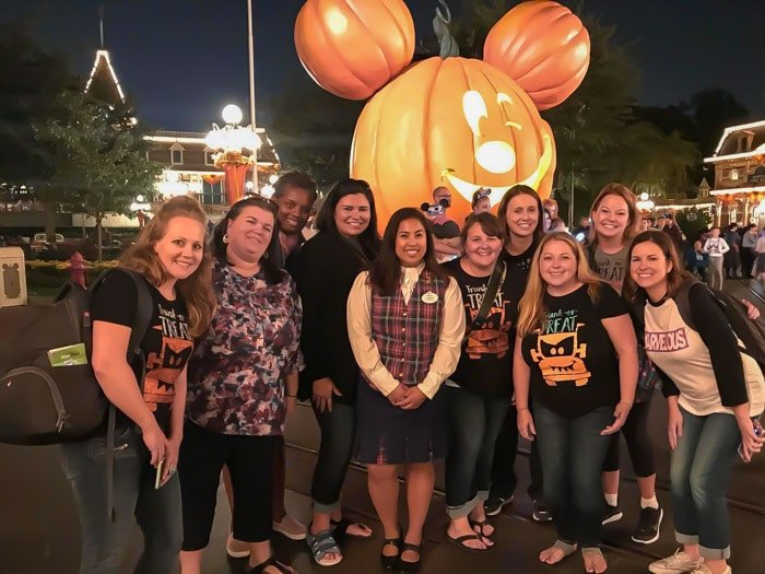 A magical time at the Disneyland Halloween Party