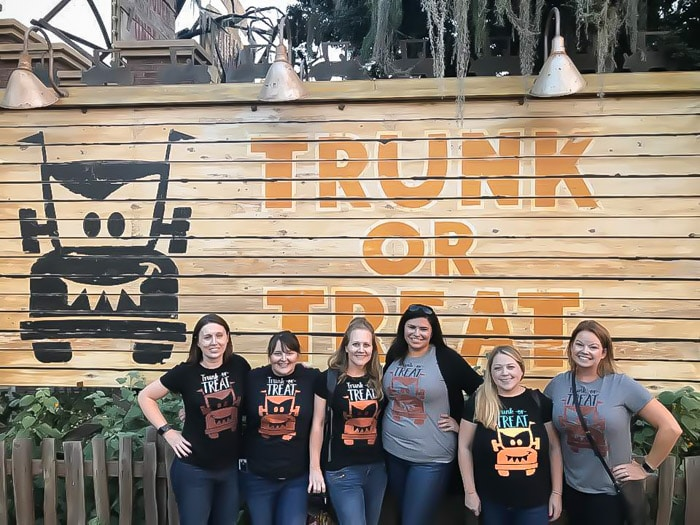 It's time for trunk or treat at Disneyland Halloween Time