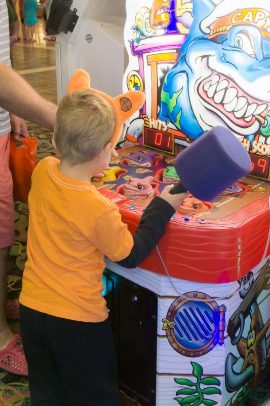 Kids will love the arcade games at Great Wolf Lodge Grapevine