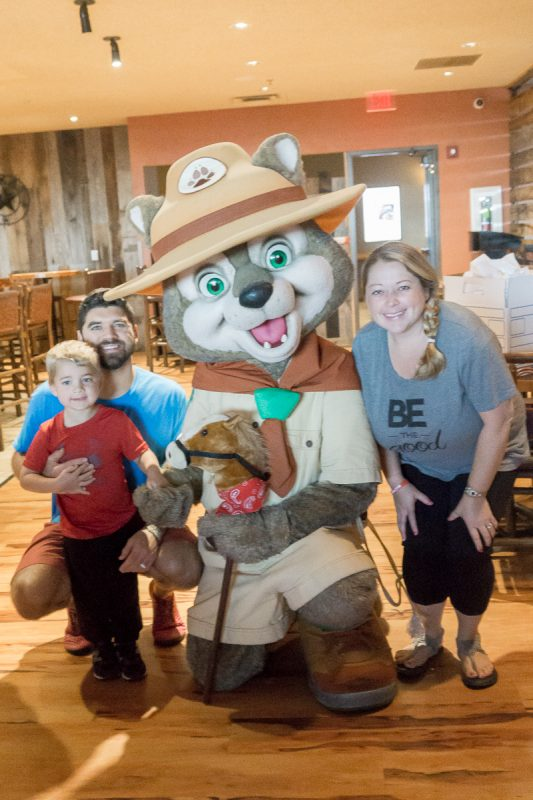 Meet characters from Great Wolf Lodge