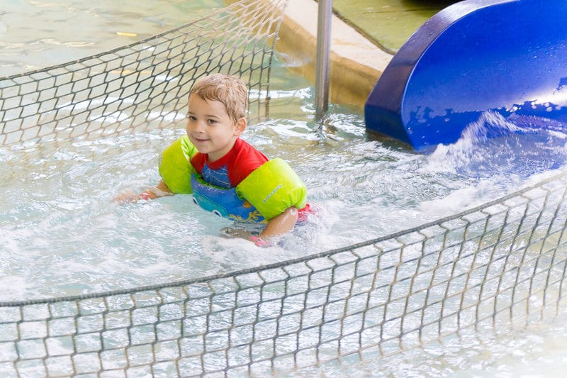 Don't miss the kids area at the Great Wolf Lodge water park