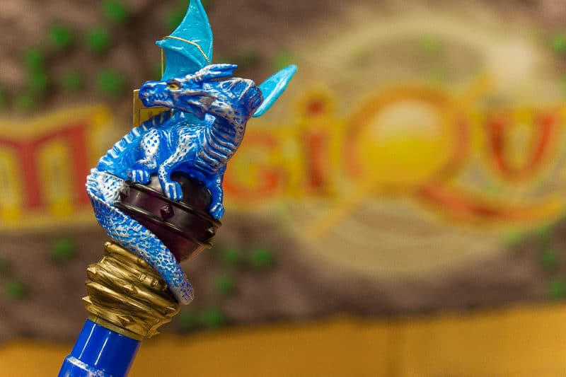 Get a cool topper for your game of MagiQuest at Great Wolf Lodge