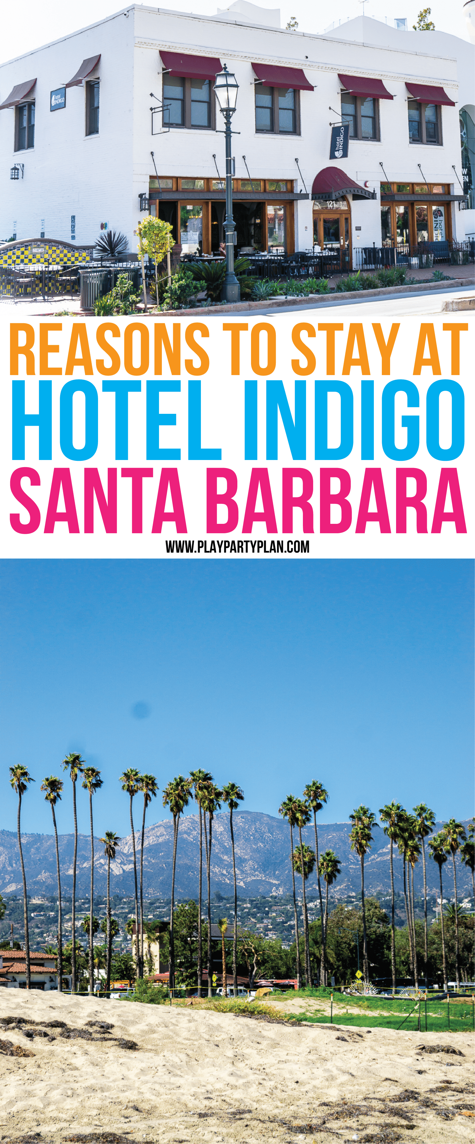 See what makes the Hotel Indigo Brand unique from other hotel chains and why Hotel Indigo Santa Barbara makes a great place to stay when you visit California! via @playpartyplan