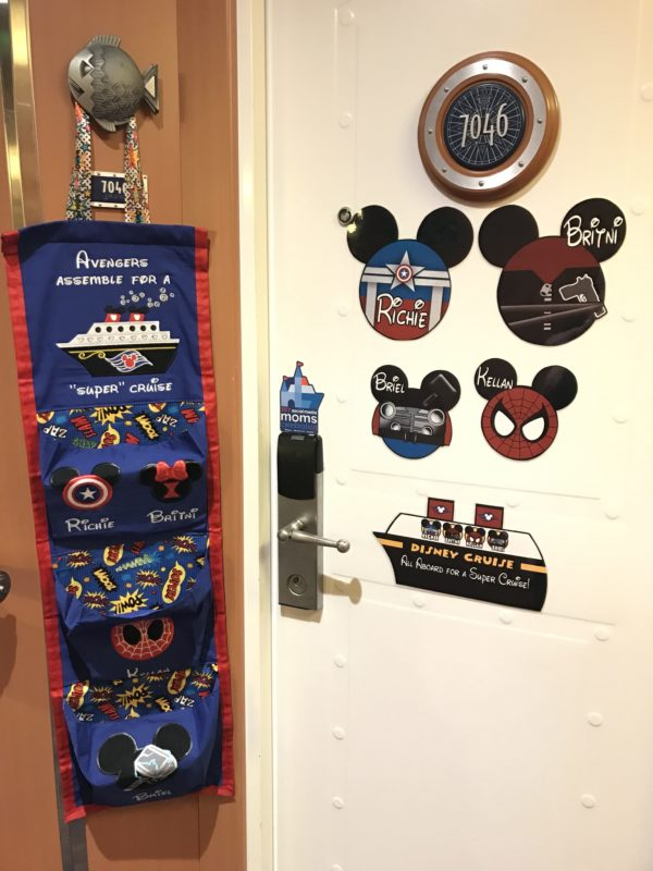 Disney Cruise Inspired Fish Extender Ornament