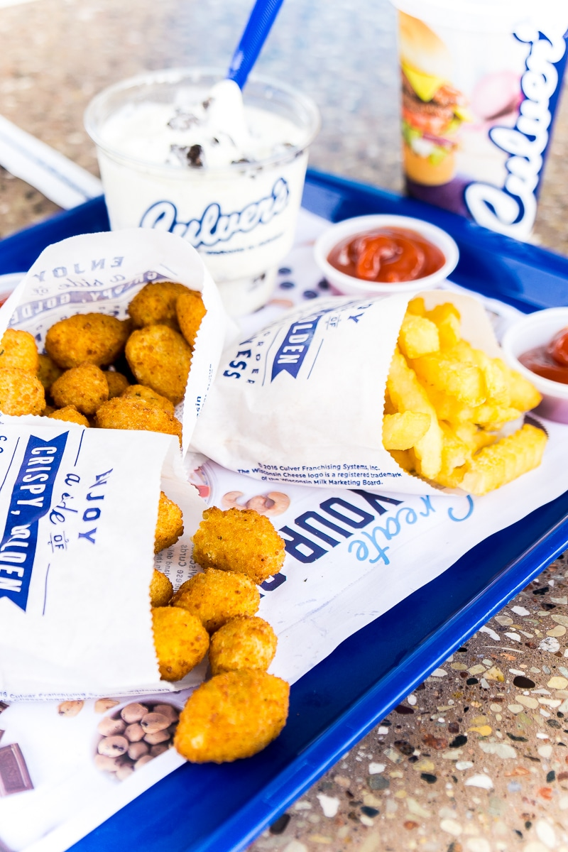 The best cheese curds are at Culver's