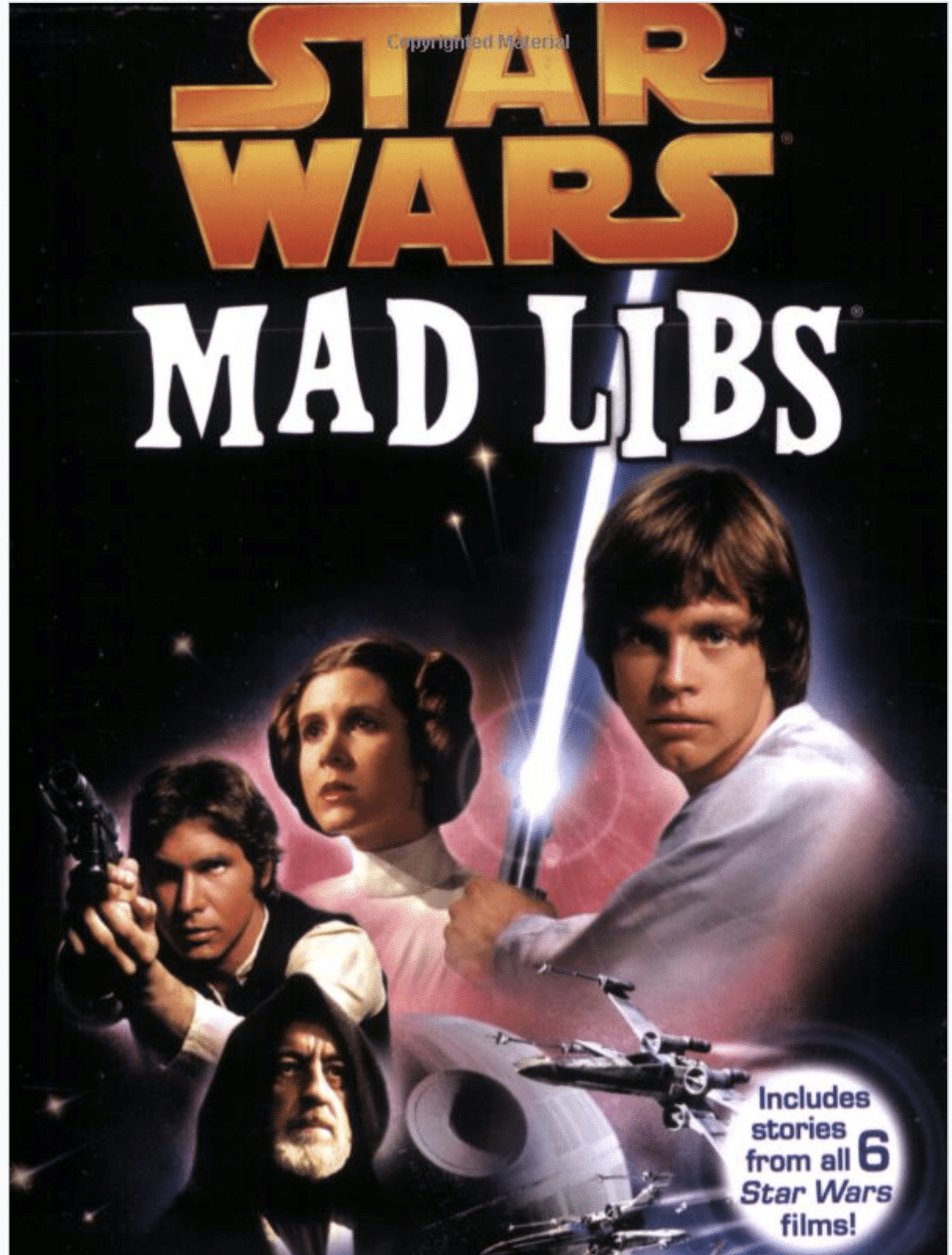 Star Wars Mad Libs are fun for kids or adults
