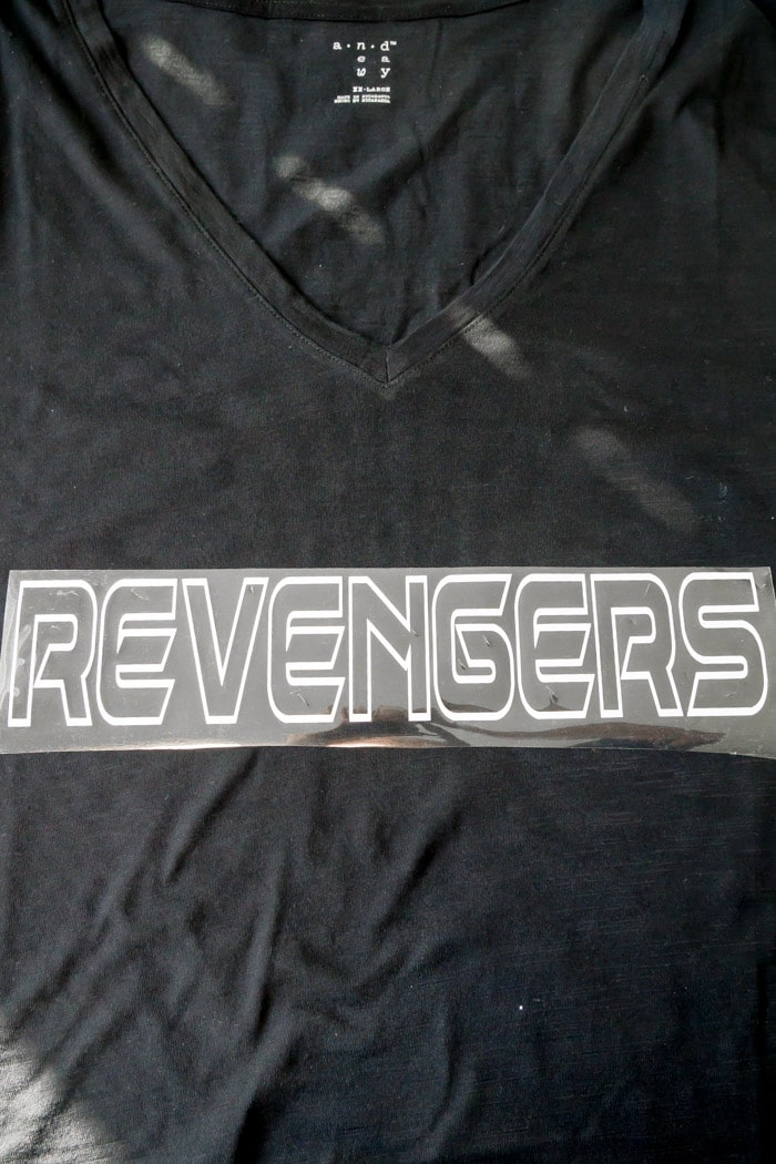 The Cricut Maker makes it simple to make this DIY Thor Shirt