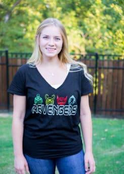 The cutest DIY Thor shirt inspired by the THOR Ragnarok movie