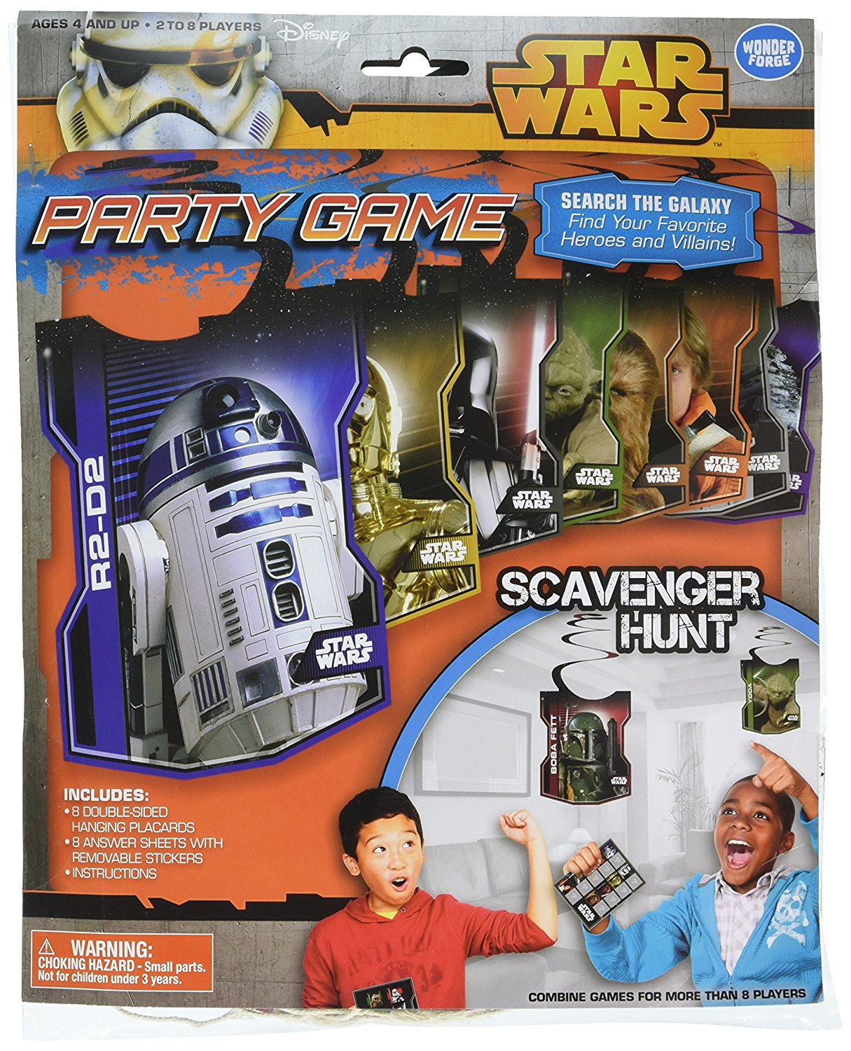 A Star Wars scavenger hunt for kids