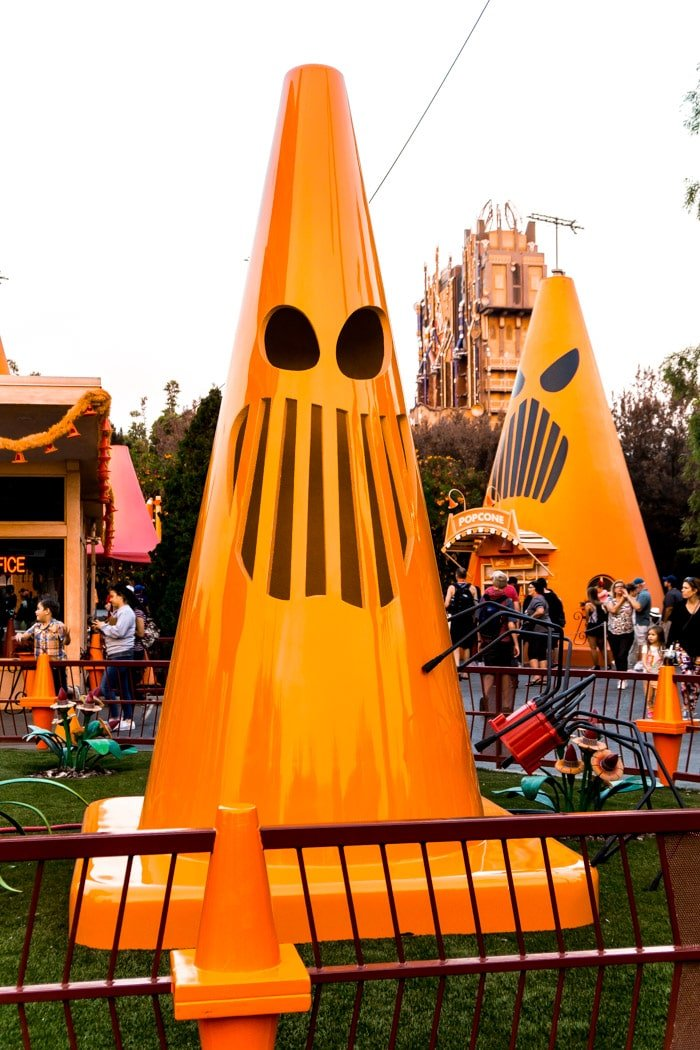 Sally's Cozy Cone Motel in Disneyland California Adventure
