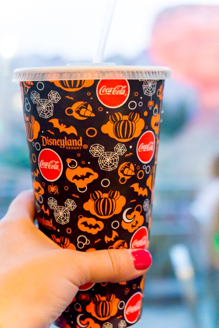 Disneyland Halloween Party drink cups