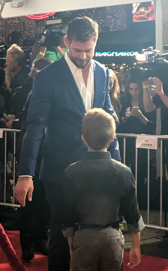 Insider look at the Thor: Ragnarok Red Carpet World Premiere