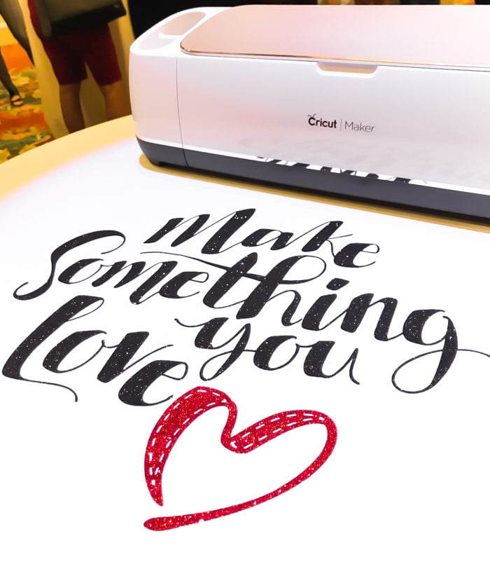 The Cricut Maker allows you to make something you love