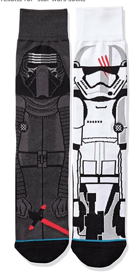 Socks make great Star Wars gifts for men