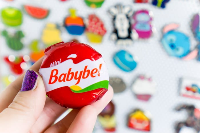 One round of Mini Babybel cheese has 70 calories or less