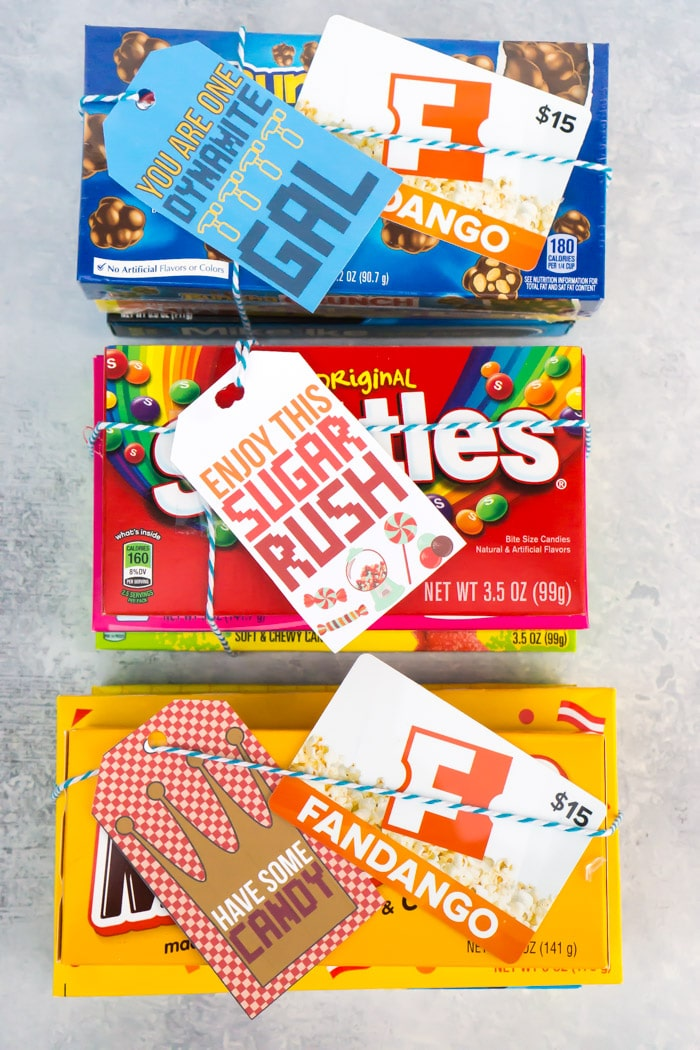 A Sugar Rush inspired gift tag from Wreck It Ralph