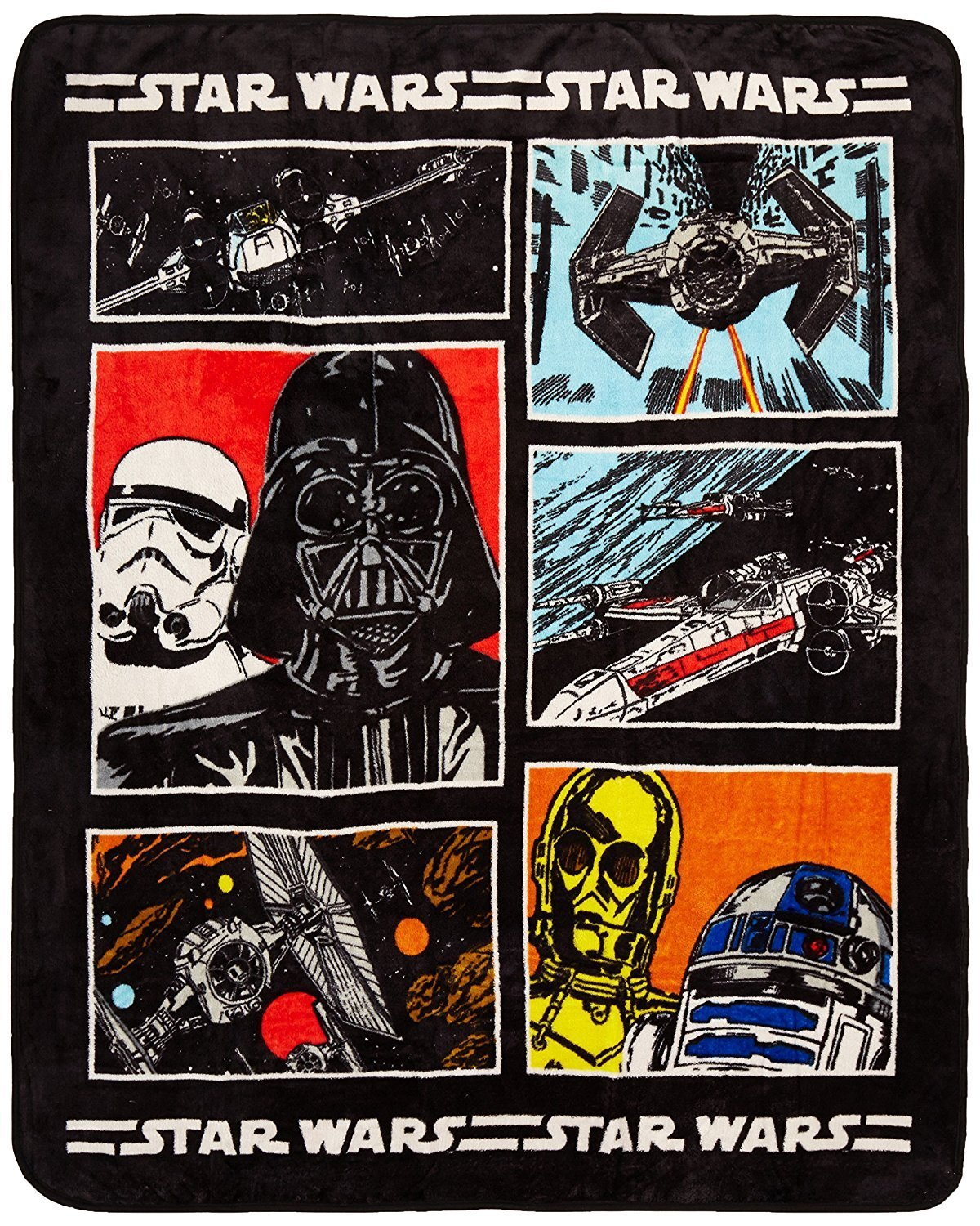 One of the best Star Wars gift ideas ever - a blanket