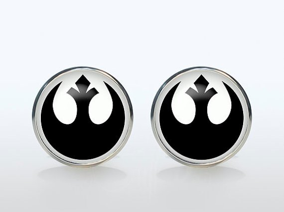 Cuff links are one of the best Star Wars gifts for guys
