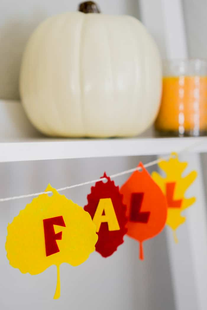 A pretty way to say happy fall