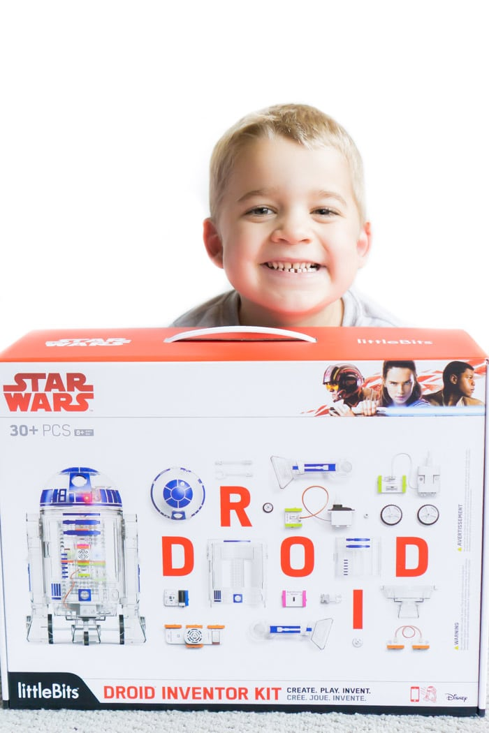 The littleBits Droid Inventor Kit is perfect for Star Wars fans of all ages