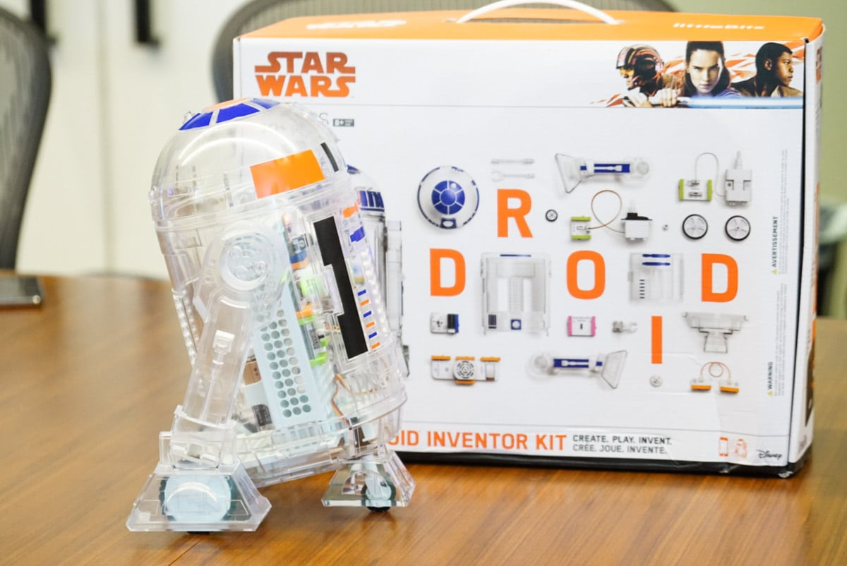 The littleBits droid inventor kit is going to be a hot holiday gift this year