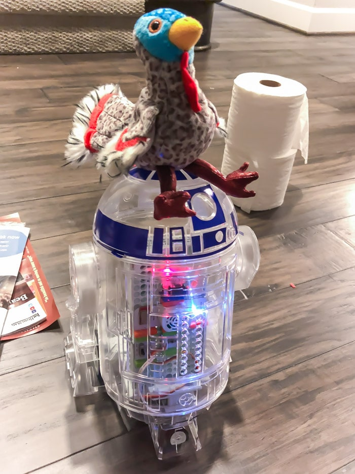 Customize your droid to look like a littleBits R2D2